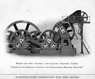 excelsior with improved crusher
